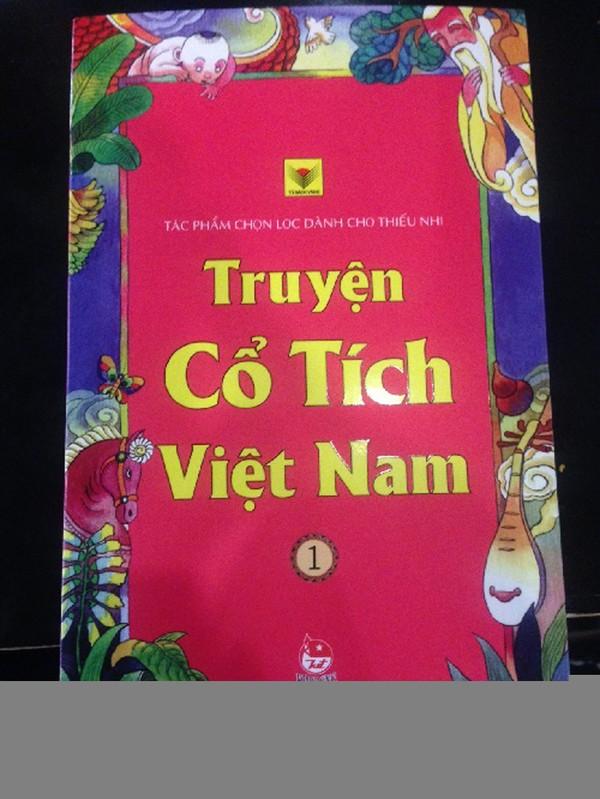 Bìa cuốn sách Truyện cổ tích Việt Nam do NXB Kim Đồng tái bản tháng 10/2014