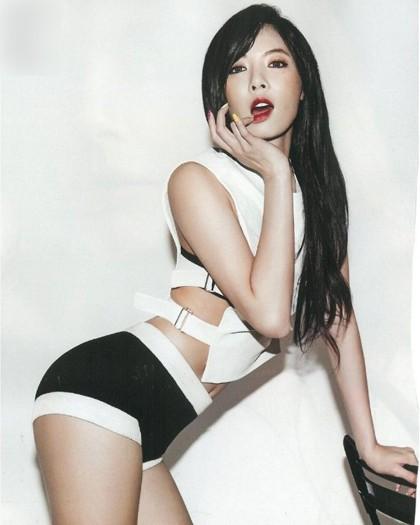 Ca sĩ Hyuna xếp thứ