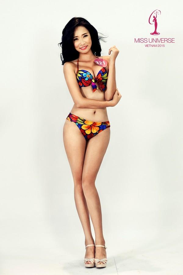 Người đẹp HH Hoàn vũ miền Bắc khoe số đo chuẩn với bikini