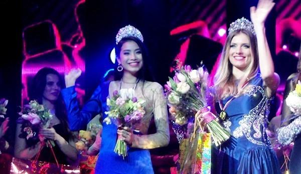 Nhan sắc thuở mới vào showbiz của Tân Hoa hậu Hoàn vũ