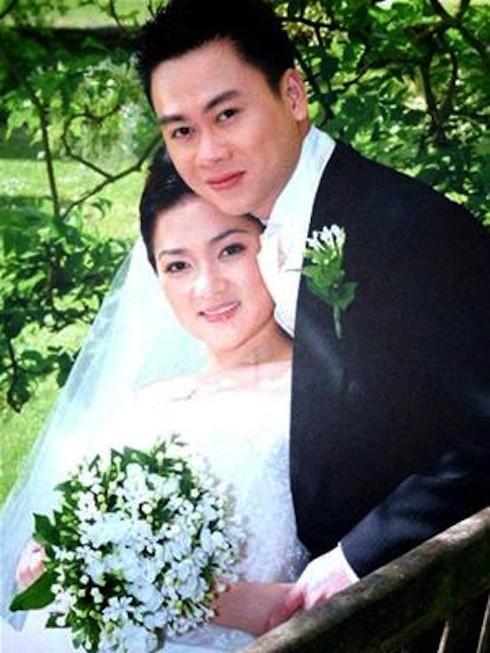 Nguyễn Thị Huyền và chồng cũ.