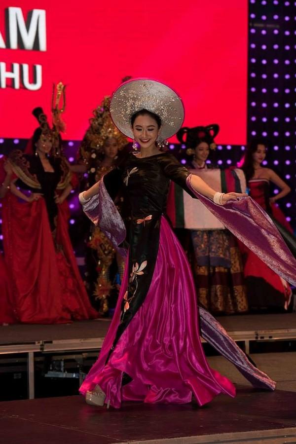 Đại diện Việt Nam - Hà Thu lọt top 17, mỹ nhân Nga đăng quang Hoa hậu Liên lục địa 2015 - Ảnh 4.