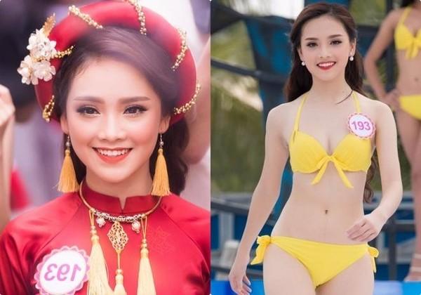 Tại cuộc thi Hoa hậu Việt Nam năm nay, Trần Tố Như mang số báo danh 193