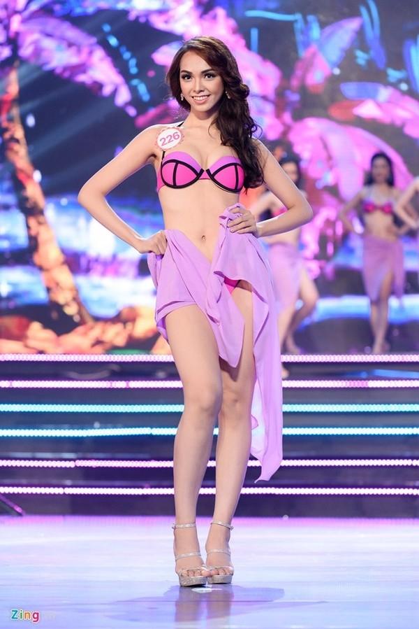 Lục Thị Thu Thảo sinh năm 1997, hiện là sinh viên Đại học Ngoại thương TP HCM. Cô cao 1,72 m, số đo 83-59-92.