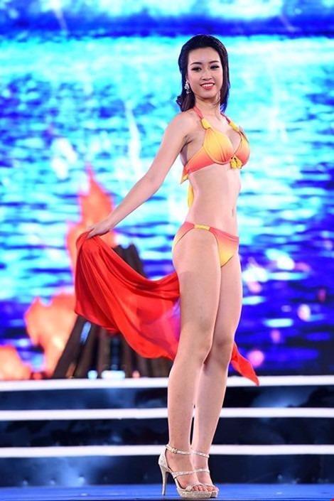 Tại cuộc thi Hoa hậu Việt Nam 2016, Đỗ Mỹ Linh mang số báo danh 145