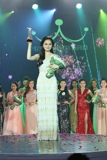 Cô từng đoạt Miss Ngôi Sao 2014