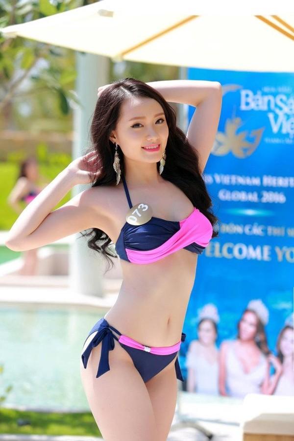 Người đẹp du lịch: Thu Trang.