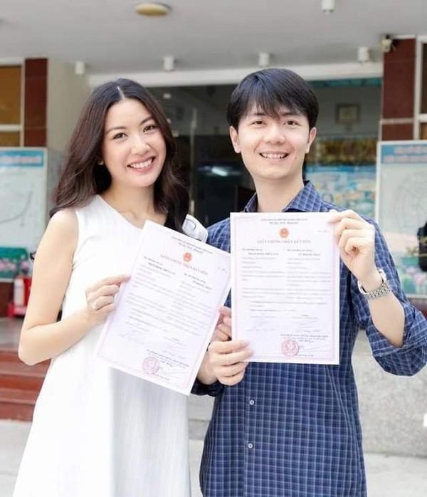Á hậu Thúy Vân đăng ký kết hôn cùng doanh nhân Nhật Vũ - ảnh 2