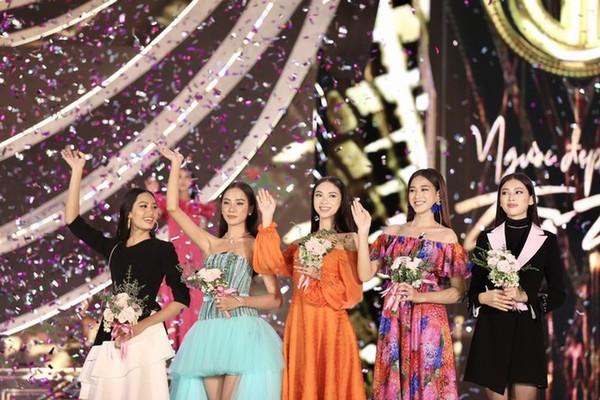 Ngắm Tốp 5 Người đẹp Thời trang Hoa hậu Việt Nam 2020 - ảnh 1