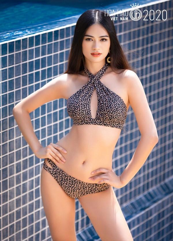 Ngắm Tốp 35 Hoa hậu Việt Nam 2020 diện bikini trước Chung kết - ảnh 13