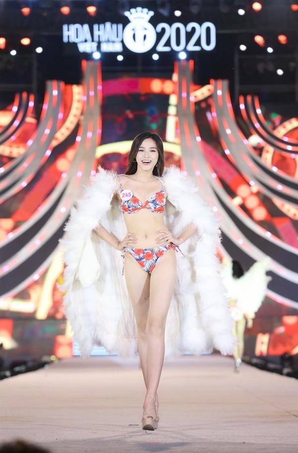 Ngắm Đỗ Thị Hà tốp 5 Người đẹp Biển ở Hoa hậu Việt Nam 2020 - ảnh 9