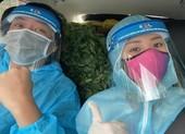 Hoa hậu Khánh Vân cùng nghệ sĩ hỗ trợ người dân, y bác sĩ chống dịch