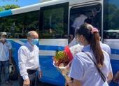 Thừa Thiên - Huế ra quân đưa bác sĩ, điều dưỡng vào Đà Nẵng