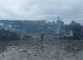 Cháy nổ gần biên giới Việt - Lào, nhiều người thương vong