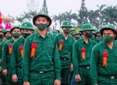 1.200 thanh niên Đà Nẵng lên đường nhập ngũ