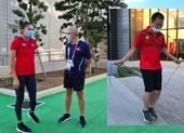 Clip VĐV Việt Nam 'bít bùng' tập luyện cho Olympic Tokyo