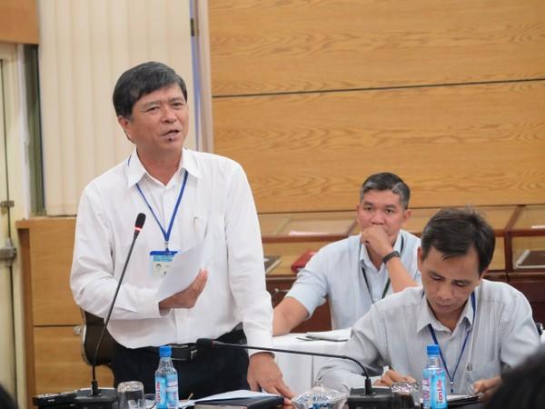 Ông Nguyễn Văn Hiếu, Phó giám đốc Sở GD&ĐT TP chia sẻ ý kiến.