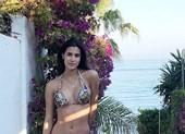 Hình thể nóng bỏng với bikini của tân Hoa hậu Quốc tế 20 tuổi