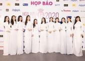 Dàn hoa, á hậu áo dài khởi động Hoa hậu Việt Nam 2020