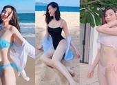 Cao Thái Hà khoe dáng bikini gợi cảm trên biển