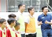3 huyền thoại bóng đá Việt Nam hội ngộ tại Cầu thủ nhí 2020