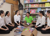 Thí sinh Hoa hậu Việt Nam với dự án Đường tới tương lai