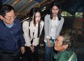 Tốp 3 Hoa hậu Việt Nam 2020 đến Nam Trà My hỗ trợ 1 tỉ đồng