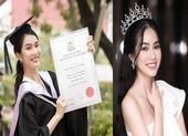 Á hậu Phương Anh: 'Tôi học khi chờ makeup, thử quần áo'