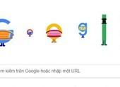 Doodle mới của Google nhấn mạnh đeo khẩu trang khi ra đường