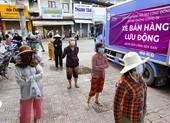 'Siêu thị di động' giải quyết thực phẩm cho người dân TP.HCM