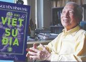 Nhà nghiên cứu Nguyễn Đình Đầu công bố tạp ghi quan trọng