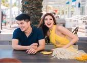 Người đàn ông điển trai cùng Hoa hậu Khánh Vân đến Mỹ là ai?