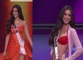 Ngắm Khánh Vân thi dạ hội tại Bán kết Miss Universe