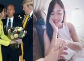 Cô gái tặng hoa Tổng thống Donal Trump ngày ấy giờ ra sao?