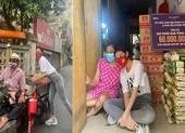 Hoa hậu Khánh Vân giúp đỡ người khuyết tật, bán vé số tại TP.HCM