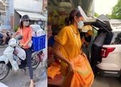 Hoa hậu H'Hen Niê chạy xe máy làm shipper, bốc vác chẳng kém đàn ông
