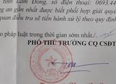 Lâm Đồng: Tìm người bị tố cáo chiếm đoạt tài sản