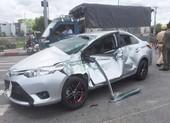 Tai nạn liên hoàn, 5 người bị thương ở Bình Tân