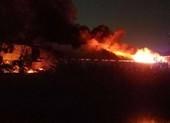 Cháy lớn trong KCN Tân Tạo, TP.HCM