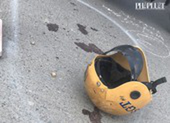 Trung tá CSGT bị người vi phạm tông gãy tay chân ở Bình Chánh