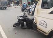 Ô ô tải mất thắng, va chạm liên hoàn với 3 xe khác ở Bình Tân
