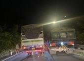 6 ô tô và 1 xe máy tông liên hoàn trên đèo Bảo Lộc