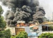 Cháy ở trung tâm TP.HCM, sơ tán học sinh trường Ernst Thalmann