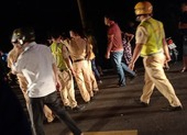 CSGT bị 'quái xế' tông gãy 2 chân, 1 dân quân gãy 1 chân