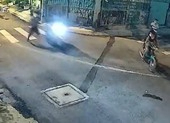 Cầm dao tự chế cướp xe máy lúc 1 giờ sáng ở Bình Chánh