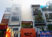 Cháy lớn trên đường Nguyễn Thượng Hiền ở quận 3