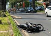 1 người nước ngoài tử vong sau khi ngã xe máy ở quận 3