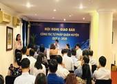 Sở Tư pháp TP.HCM tổ chức hội nghị giao ban tư pháp