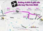 Kiến nghị giao đất quốc phòng làm đường 'cứu' kẹt xe sân bay