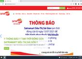 Tạm đóng cửa Satra Mart siêu thị Sài Gòn từ 13-7